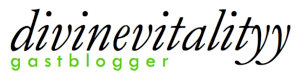 Logo blogger van - wit
